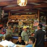 l'interno del mitico Bar Sport di Gerssoney