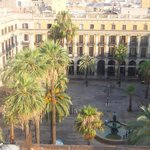 View over Placa Reial