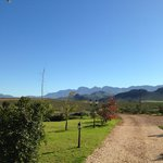 Beautiful view at Marbrin Farm