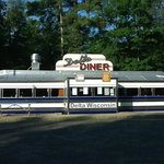 Delta Diner On a Summer Morning at Opeing Time