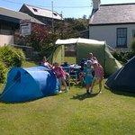 Camping at Corcreggan...