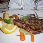Grilled Tuna Staek