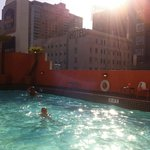 Swimmingpool in the middle of the centre of SF