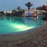 Décoration de la piscine pour le 14 juillet