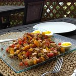 Greek Salad at lunch