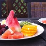 Fruits and Vegetables at Breakfast