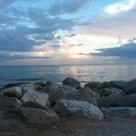 South Jetty Beach sunset