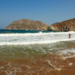 La plage de Psili Amo