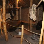 Inside the Indian Mud Hut