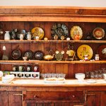 gorgeous cabinet in the breakfast room