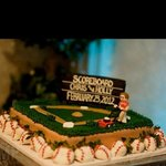 Our grooms cake 2-23-12 from Texas Star Bakery!