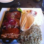 Make Your Own Taco: beef, pork & chicken with slaw and cilantro rice