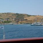 """Arriving to Bozcaada by """"Feribot"""" from Geyikli"""