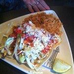 Fish Tacos, delicious