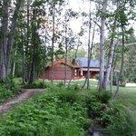 Die Lodge und der Garten