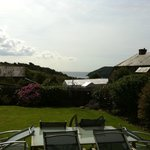 Lovely garden at the front of the house with great views