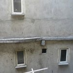 View from primary bedroom...an alley and neighboring building