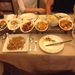 yummy selections of food