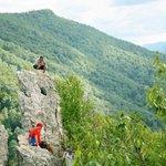 A View From Seneca Rocks