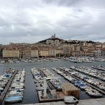 View from Hotel room-Vieux Port Marseille
