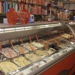 Tough choices of gelato at Momo