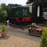 the kids 'drive your own' train was a favourite!! great fun.
