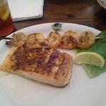 Salmon & Grilled Shrimp
