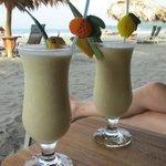 Bar service on the beach