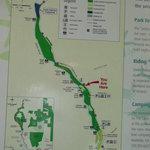 Potholes Regional Park Map