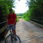 A bridge on the trail