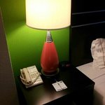 Housekeeping even makes sure the pen and notepad are situated just so on the nightstand.
