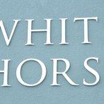 Front Sign - White Horse Baston