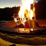 Fire and wine!