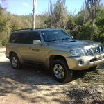 Our comfortable 4 x 4 SUV
