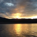 Sunset over Vallecito Lake