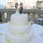 Beautiful view and cake