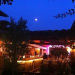full moon at SoleLuna..awesome ��