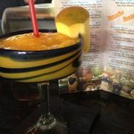 mango margarita was good but the menu says limon salt but wasn't salted. fresh mango was awesome