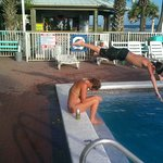 Getting some air @ the Pool....