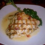 Fresh Grouper entree before I dived in!