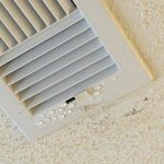 condensation in bedroom vent