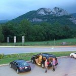 Night View of Seneca Rocks from Yokums/Harpers