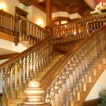 Beautiful stairway in winery