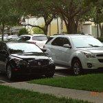 pátio do estacionamento