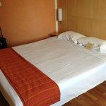 comfy no frills bed