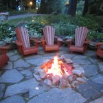 Relax by the firepit