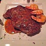 Ribeye Steak and Shrimp