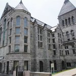Historic building at McGill