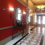 Hall Near Elevators and Main Entrance