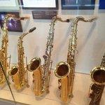 Clinton sax collection